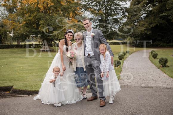 David & Rebecca Statham Lodge Wedding 01805