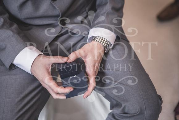 David & Rebecca Statham Lodge Wedding 01268