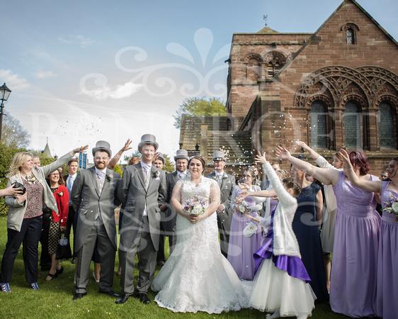 Robert & Kim Thornton Hall Wedding 3006