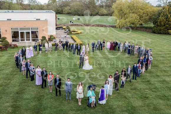 Robert & Kim Thornton Hall Wedding 0625