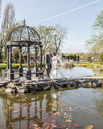Robert & Kim Thornton Hall Wedding 0019