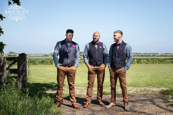 Mike & Kim - Lound Farm Wedding  00171