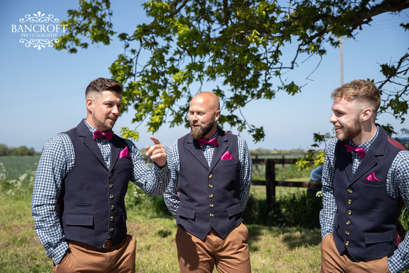 Mike & Kim - Lound Farm Wedding  00178