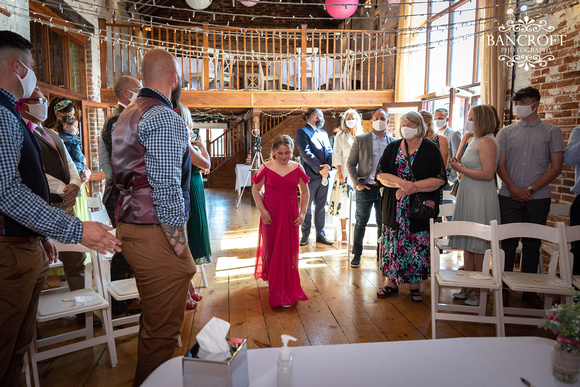 Mike & Kim - Lound Farm Wedding  00242