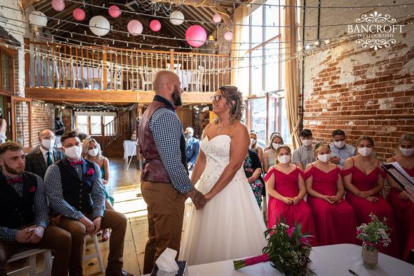 Mike & Kim - Lound Farm Wedding  00295