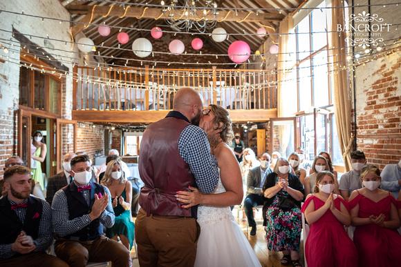 Mike & Kim - Lound Farm Wedding  00328