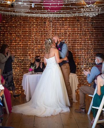 Mike & Kim - Lound Farm Wedding  00343