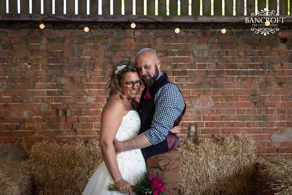 Mike & Kim - Lound Farm Wedding  00473