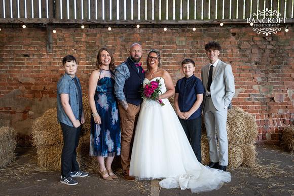 Mike & Kim - Lound Farm Wedding  00690