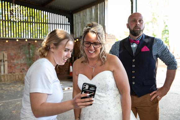Mike & Kim - Lound Farm Wedding  00842
