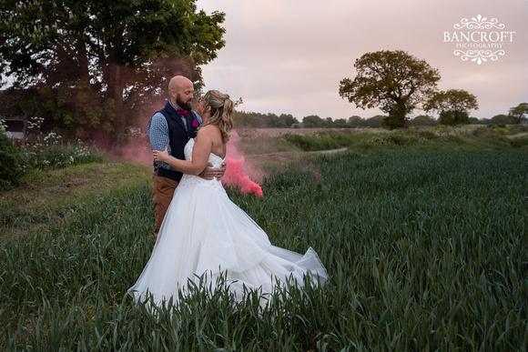 Mike & Kim - Lound Farm Wedding  01038