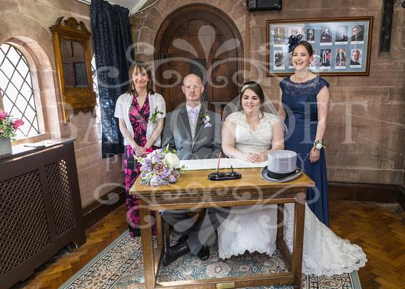 Robert & Kim Thornton Hall Wedding 2796