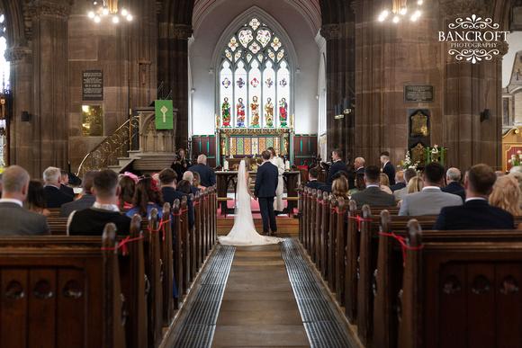 John & Claire Fir Grove Wedding 00318