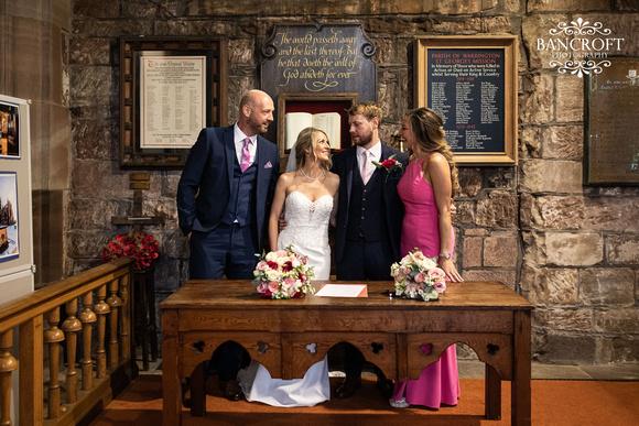 John & Claire Fir Grove Wedding 00382