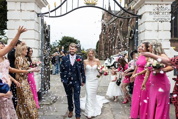 John & Claire Fir Grove Wedding 00426
