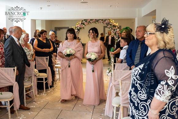 Mark & Sue - Tyn Dwr Hall Wedding 00237