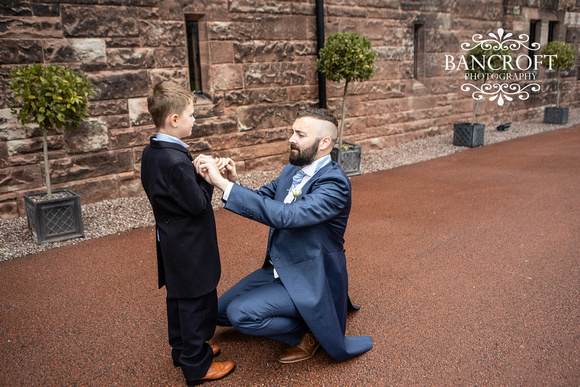 Scott & Gemma Peckforton Castle Wedding 00092