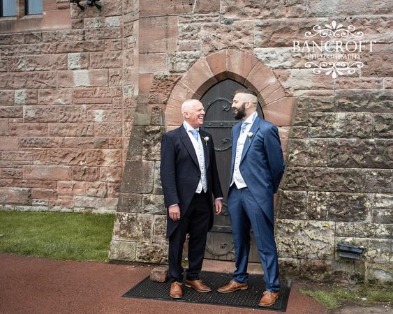 Scott & Gemma Peckforton Castle Wedding 00094