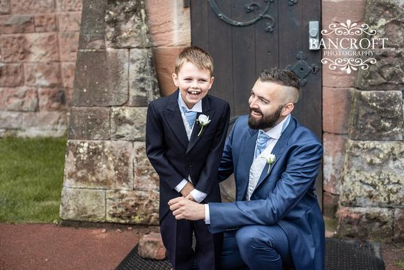 Scott & Gemma Peckforton Castle Wedding 00109