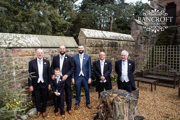 Scott & Gemma Peckforton Castle Wedding 00135