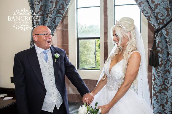 Scott & Gemma Peckforton Castle Wedding 00178
