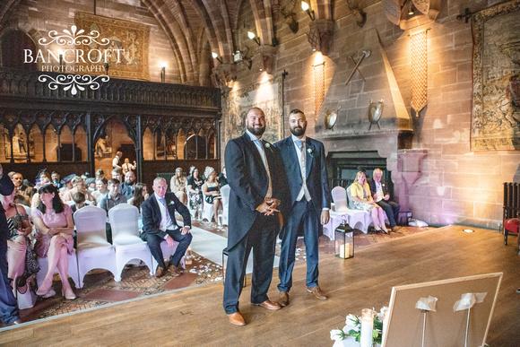 Scott & Gemma Peckforton Castle Wedding 00194