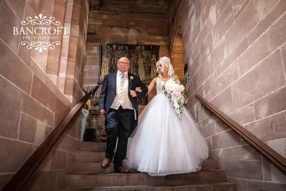 Scott & Gemma Peckforton Castle Wedding 00199