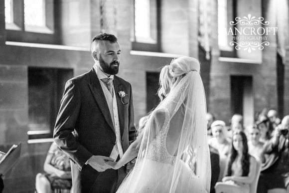 Scott & Gemma Peckforton Castle Wedding 00282