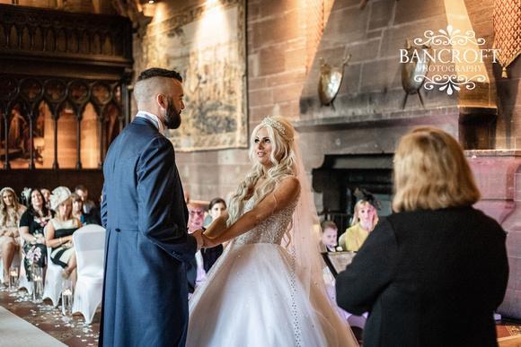 Scott & Gemma Peckforton Castle Wedding 00302