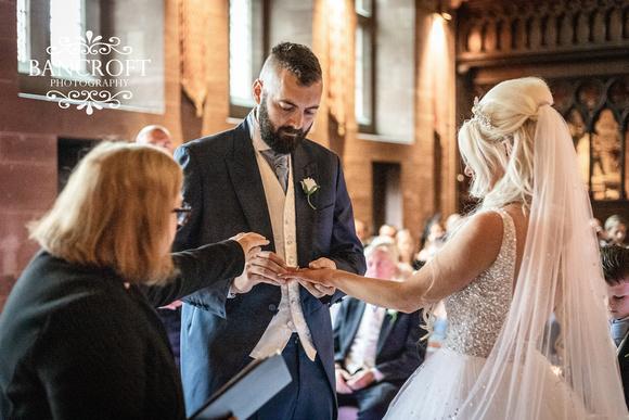 Scott & Gemma Peckforton Castle Wedding 00309