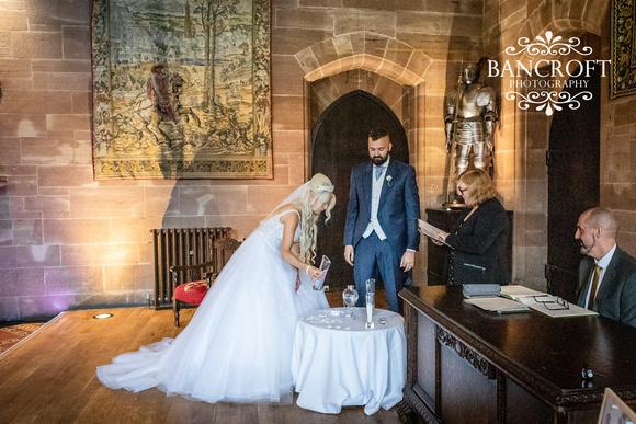Scott & Gemma Peckforton Castle Wedding 00331