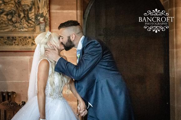 Scott & Gemma Peckforton Castle Wedding 00345