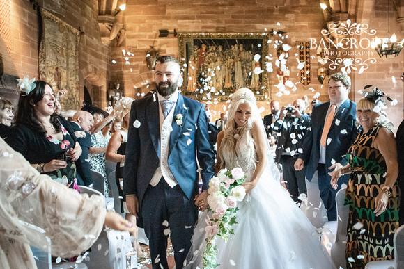 Scott & Gemma Peckforton Castle Wedding 00373