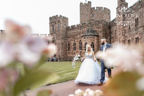 Scott & Gemma Peckforton Castle Wedding 00398