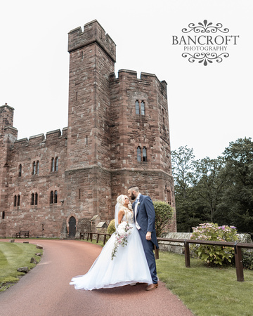 Scott & Gemma Peckforton Castle Wedding 00404
