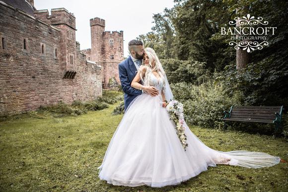 Scott & Gemma Peckforton Castle Wedding 00485
