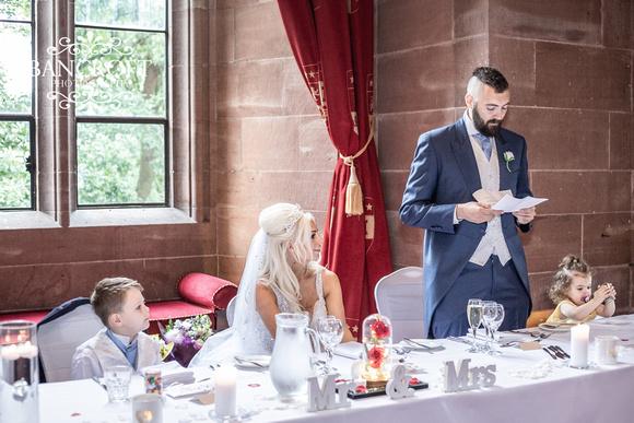Scott & Gemma Peckforton Castle Wedding 00701