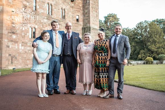 Scott & Gemma Peckforton Castle Wedding 00797