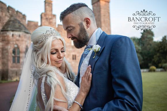 Scott & Gemma Peckforton Castle Wedding 00825