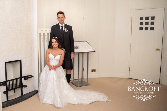 Robert & Shannon - House for An Art Lover Wedding 00468