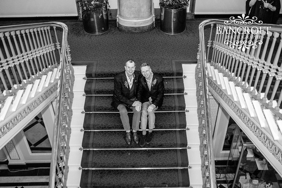 Mark & Geoff - Liverpool Town Hall Wedding  00786