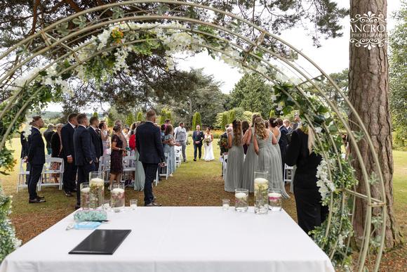 Sam & Heather - Abbeywood Wedding  00334