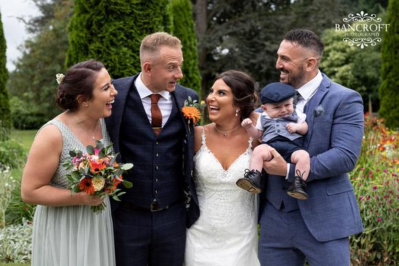 Sam & Heather - Abbeywood Wedding  00658