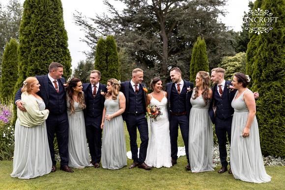 Sam & Heather - Abbeywood Wedding  00734