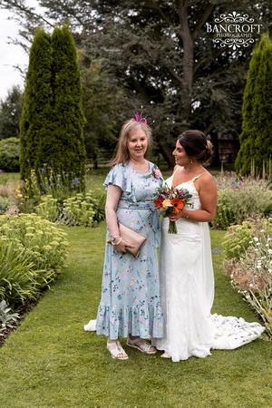 Sam & Heather - Abbeywood Wedding  00755