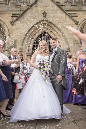 Martin & Nicola - Village on the Green Wedding -01539