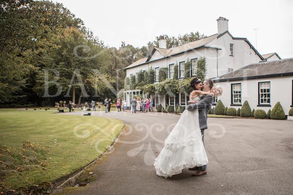 David & Rebecca Statham Lodge Wedding 01748