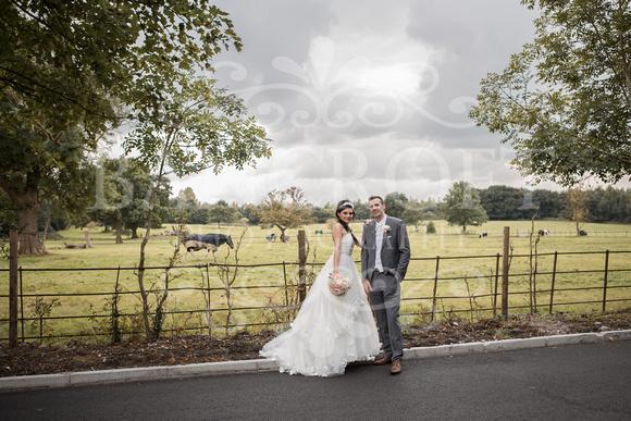 David & Rebecca Statham Lodge Wedding 01684