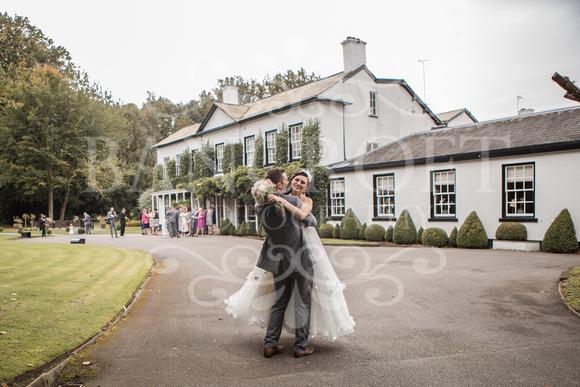 David & Rebecca Statham Lodge Wedding 01755