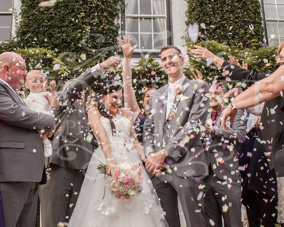 David & Rebecca Statham Lodge Wedding 00473